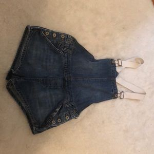 Free people overall shorts